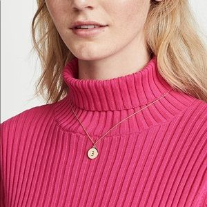 Kate Spade Mini Initial Pendant Necklace - S